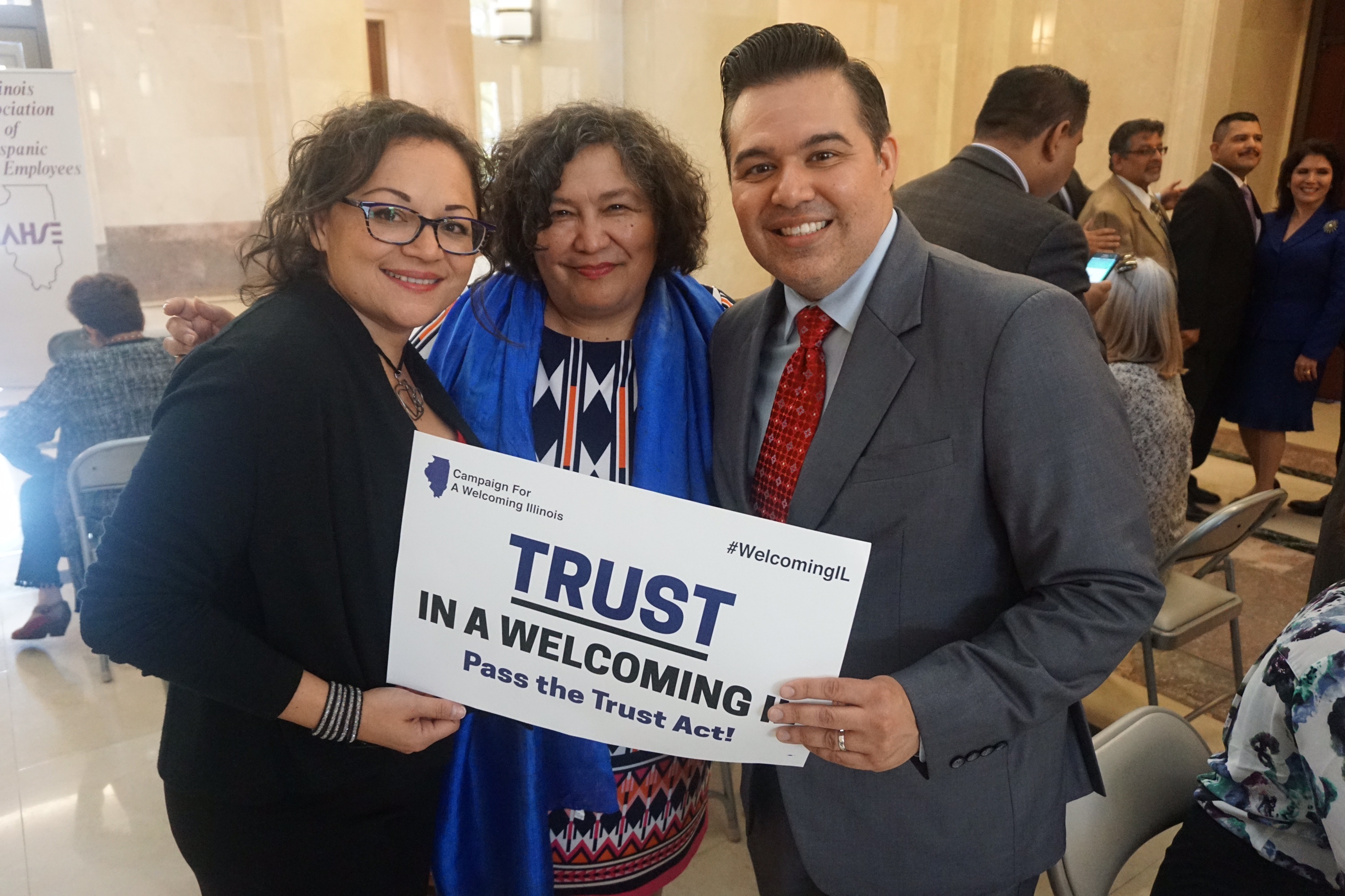 Latinos Unite for 6th Annual Latino Unity Day at Illinois' Capital
