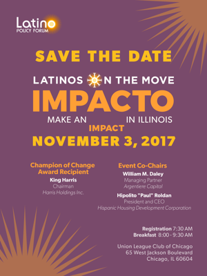 SAVE THE DATE: Latinos on the Move 2017 Policy Breakfast